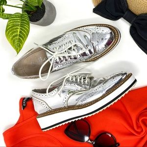 Shellys London Ailver Loafer Sneakers